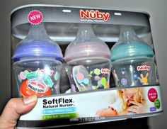 ----SoftFlex™ Natural Nurser™ and Bottle Brush ---- {Baby Product Review}