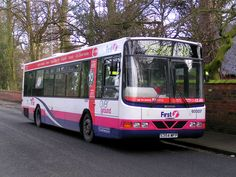 Ex-Leicester Scania MFP with First Potteries First Bus, Buses And Trains, Bus Coach, South Yorkshire, Busses, Leicester, Coaches, Glasgow, Transportation
