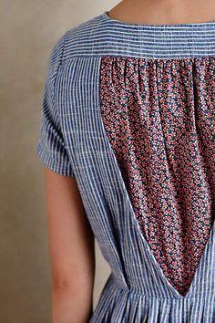 Hidden Blooms Shirtdress - anthropologie.com Pretty Outfits, Cute Outfits, Dress Skirt, Shirt Dress, Diy Mode, Fashion Details, Fashion Design, Fashion Trends, Moda Vintage
