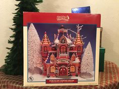 Lemax Sugar & Spice Gingerbread Palace Christmas Village House Building (2002)
