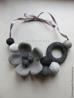 1278 best images about Felted Textile Jewelry, Fabric Jewelry, Felted Jewelry, Jewellery, Felt Bracelet, Felt Necklace, Felt Flowers, Fabric Flowers, Textiles