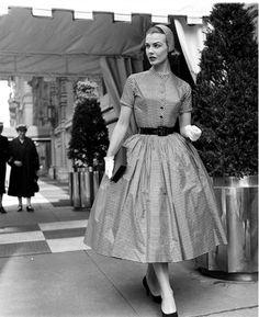 Lillian Marcuson photographed by Nina Leen, 1955