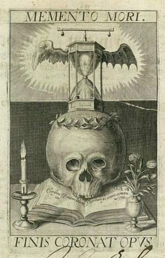 Memento Mori from Basel's dance of death by Matthew Merian.