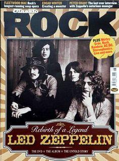 Robert Plant, Jimmy Page, John Bonham, John Paul Jones, Led Zeppelin - Classic Rock United Kingdom Magazine (June Hard Rock, Best Classic Rock, Led Zeppelin I, Classic Blues, John Bonham, Rock Of Ages, Music Magazines, Robert Plant, Blues Rock