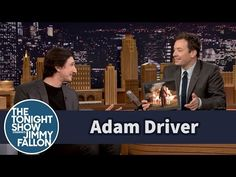 The Tonight Show Starring Jimmy Fallon: Adam Driver Points Himself Out in Star Wars Stills