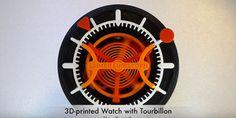 Reloj analógico impreso en 3D que funciona perfectamente http://j.mp/1PosSIy    #Gadgets, #Impresión3D, #Noticias, #Sobresalientes, #Tecnología, #Tourbillon
