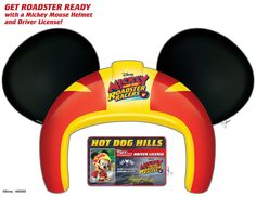 Get roadster ready with a Minnie Mouse Helmet and Driver License! | Mickey and the Roadster Racers