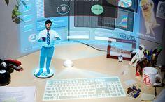 Bureau connectéUne journée en 2050 avec mes objets connectés : bureau connecté