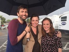 David Tennant, Olivia Colman and Lenny Henry interviews from the set of Broadchurch on the Lorraine show - February 2017 Movie Theater, Movie Tv, Theatre, Lenny Henry, Olivia Coleman, Comedy Series, English Actresses, David Tennant, Celebs