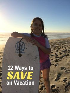 Vacations are a wonderful opportunity to reconnect as a family, relax, and reenergize. And if you can do it on a budget? So much the better!  12 Ways to Save on Vacation http://lifeasmom.com/12-ways-to-save-on-vacation-frugal-friday/