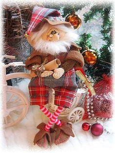 Christmas Deco, Kids Christmas, Christmas Wreaths, Christmas Crafts, Gnome Garden, Festival Decorations, Santa, Dolls, Holiday Decor
