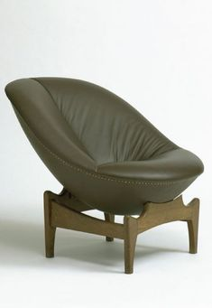 Emiel Veranneman, Lounge Chair, 1958.... ugly but looks so comfy