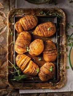 Waaier-aartappels ~ Sarie Kos