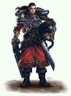 Imperial guard_female guardsman _vostroyan