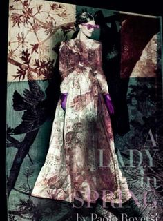 a lady in spring by paolo roversi