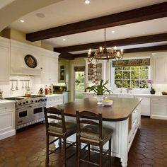 Kitchen Spanish Mediterranean Design, Pictures, Remodel, Decor and Ideas - page 4