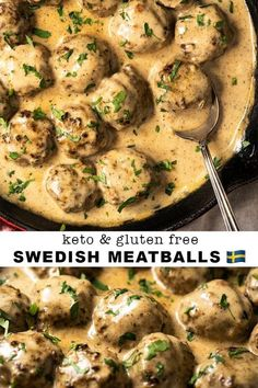 This Gluten Free and Keto Swedish Meatballs Recipes Is So Yummm ! Just clik link to see complete recipes and instructions - dinner Gluten Free and Keto Swedish Meatballs Ketogenic Diet Meal Plan, Ketogenic Diet For Beginners, Keto Meal Plan, Diet Meal Plans, Ketogenic Recipes, Paleo Diet, Meal Prep, Celiac Recipes, Diet Foods