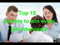Top 15 tips to pass every job interviews - WATCH VIDEO here -> http://makeextramoneyonline.org/top-15-tips-to-pass-every-job-interviews/ -    work at home job tips  Our useful video list for your job interview: 1. Top 41 interview questions and answers: 2. 12 types of interview questions and how to face them: 3. Top 14 common mistakes in job interviews:  Video credits to the YouTube channel owner