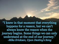 Upon Destiny's Song, Mormon pioneers, journey