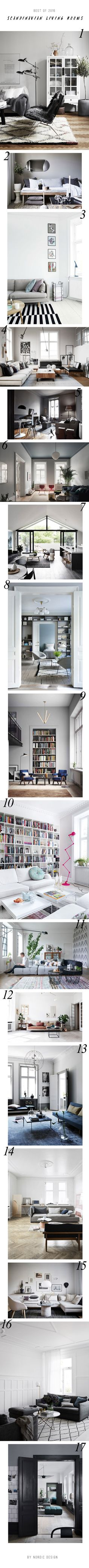 17 of the most inspiring Scandinavian living rooms