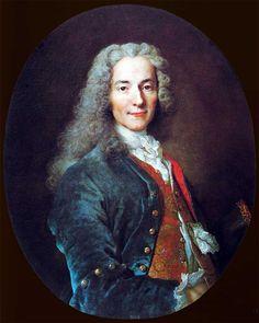 Portrait de François-Marie Arouet, dit Voltaire (1694–1778) 1718, Palace of Versailles