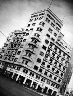 Creditul Minier 1940 Margaret Bourke White, Bucharest, Time Travel, Multi Story Building, Traveling, Viajes, Trips, Travel
