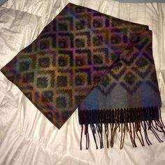 Selling this Rustic Bohemian Long Scarf w/ Unique Pattern in my Poshmark closet! My username is: emmolik. #shopmycloset #poshmark #fashion #shopping #style #forsale #Cashmink by Kohls #Accessories