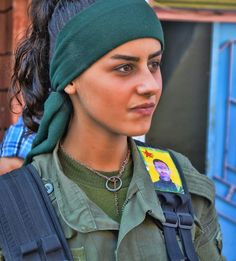 Kurdish YPG Fighter by Kurdishstruggle http://flic.kr/p/zHgWTQ