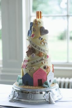 Oh I Do Like To Be Beside The Seaside Chocolate Wedding Cakes
