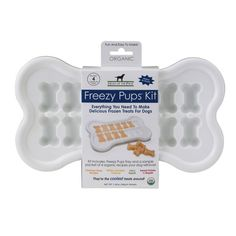 Freezy Pups organic make-at-home frozen dog treats