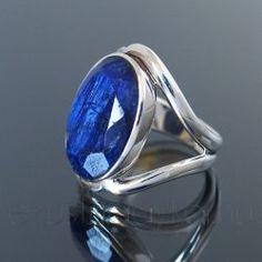 Zafír ezüst gyűrű Gemstone Rings, Gemstones, Jewelry, Jewlery, Bijoux, Schmuck, Jewerly, Gems, Jewels
