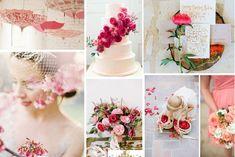 Decoración de boda en strawberry ice. #Tendencias2015