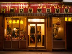 Oldest Dim Sum restaurant in NYC China town. Nom Wah Tea Parlor, 13 Doyers Street, New York (212-962-6047 or nomwah.com).