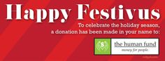 It's A Festivus Miracle! The Human Fund, Happy Festivus, Seinfeld, Cover Photos, Deep Thoughts, Holiday, Facebook, Vacations, Holidays Events