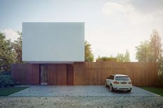 ip design: Highly-contrasted house by KMA - Kabarowski Misiura ...