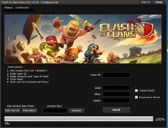 Clash Of Clans Hack and Cheats 2013
