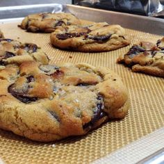 the BEST chocolate chip cookies EVER - see youtube video by fresh p for instructional