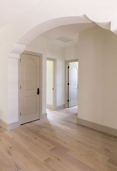 look at the inverted corners on the arch Heights House Smart Locks & Home Features Painting Trim, House Painting, Paint Colors For Home, House Colors, Murs Beiges, Interior Trim, Interior Door Colors, Painted Interior Doors, Beige Walls