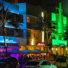 There's a bunch of hip new hotels in colorful South Beach. Photo courtesy of erinkate25 on Instagram.