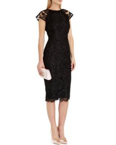 Ted Baker Lace fitted dress