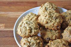 Applesauce Raisin Oatmeal Cookies