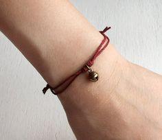 Little Jingle Bell Bracelet / Jingle Bell Anklet by greenduckweed, $6.50 - Just in time for Christmas @Devils Daughter