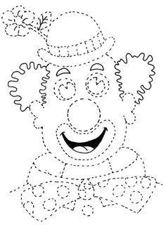 Αποτέλεσμα εικόνας για marioneta arlequin plantilla
