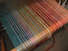 Saori Salt Spring - Saori weaving