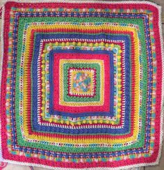 Baby sampler afghan by SimplySouthernCroche on Etsy