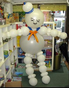 Ghostbusters balloon decoration.