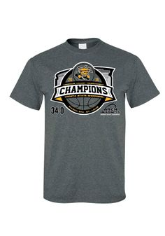 Wichita State (WSU) Shockers T-Shirt - Missouri Valley Conference Tournament Champions and Undefeated Charcoal WSU Stadium Short Sleeve Tee http://www.rallyhouse.com/shop/wichita-state-shockers-8090216 $19.99