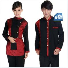 5 sets/lot Women / man Autumn & Winter Use Hotel uniform Waitress Work clothes Housekeeping Staff spot goods free shipping-in Safety Clothing from Home Improvement on Aliexpress.com