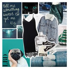 """tell me something sweet to get me by"" by myduza-and-koteczka ❤ liked on Polyvore featuring Prada, Villain, Monki, Miss Selfridge, Vans, Alexander Wang and Kendra Scott"