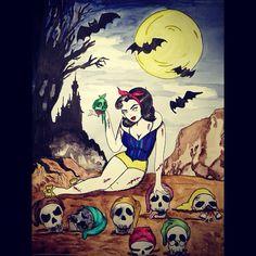 Zombievamp Snow White  on Etsy, $5.00